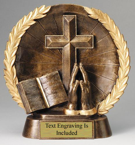 Biblical Wreath Trophy Awardsmart San Antonio Tx Awards